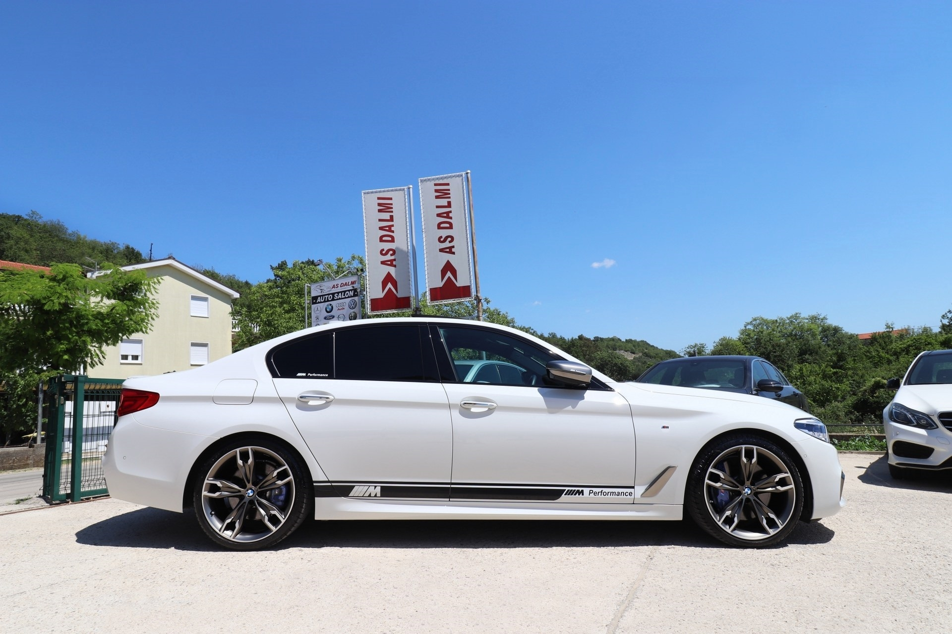BMW M550 D G30 xDrive 4x4 QUADRI TURBO M-PERFORMANCE Motorsport Black Edition 400 KS Laser Licht ACC-System 3D View Kamera 360° -New Modell 2018- MAX-VOLL