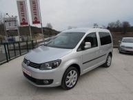 Volkswagen Caddy 1.6 CR TDI DSG-Tiptronik HIGHLINE SPORT CARAT Navigacija DVD Parktronic Max-FULL * -New Modell 2011-
